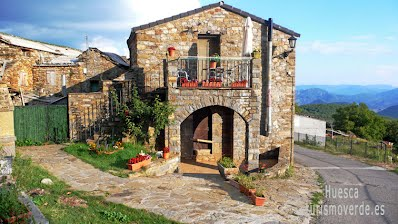 TURISMO VERDE HUESCA .Casa Ambrosio en Oncins